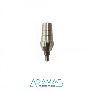 Абатмент прямой уступ 2мм платформа 4,2мм for Asper Conus Implants